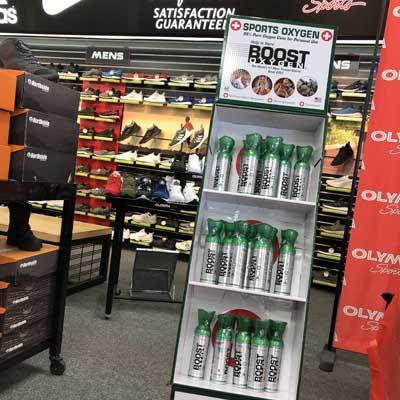 Boost Oxygen Retailers and Distributors