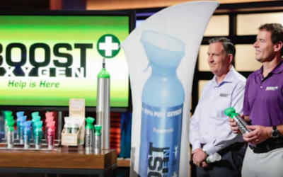 A $1 Million Dollar Deal For Shark Tank's Kevin O'Leary With Boost Oxygen