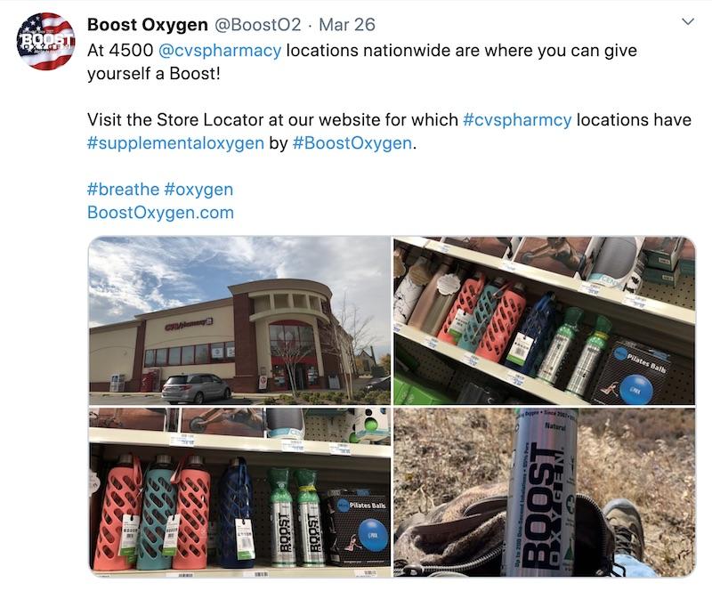 Boost Oxygen Weekly Social Media Recap
