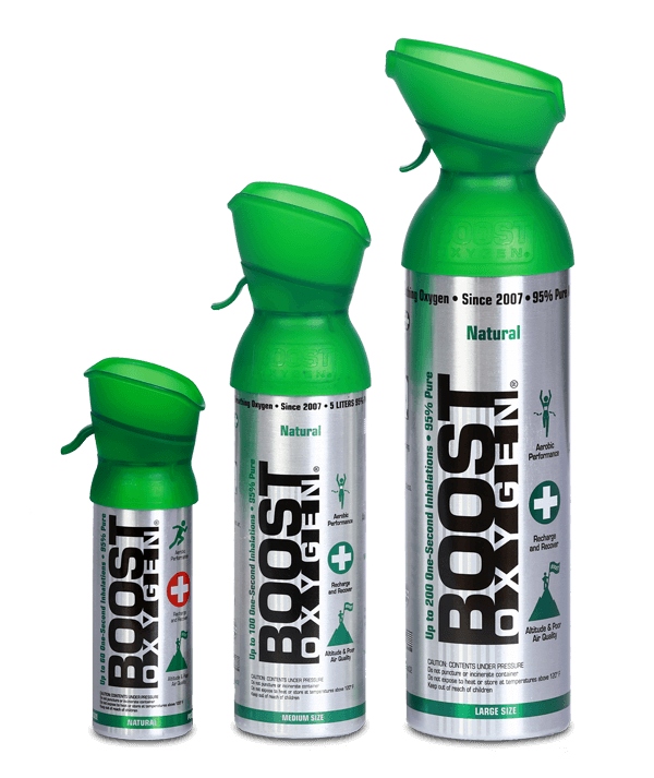 The Boost Oxygen Natural Collection