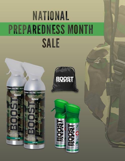National Preparedness Month Sale